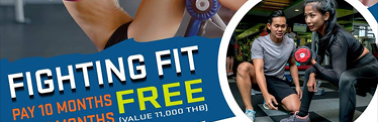 Fighting Fit Free at True Arena Hua Hin