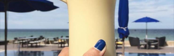 Pineapple Smoothies   at Shoreline Beach Club! @ Amari Hua Hin