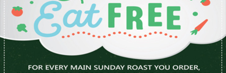 A Kids Sunday Roast Free at The Palm Bistro & Wine Bar