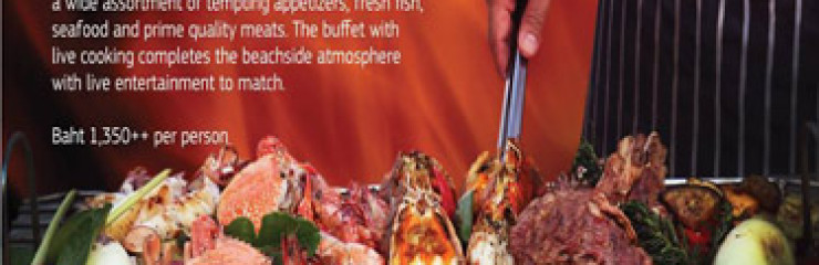 Reef & Beef The Buffet with Live Cooking at Coast Beach Club & Bistro Every Friday 2017