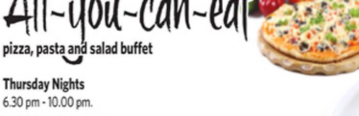 All You Can Eat Thursday Night at Hilton Hua Hin Resort and Spa of November 2017