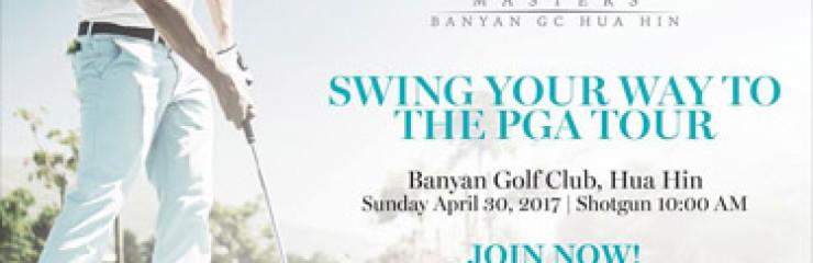 MENA Tour MahaSamutr Masters Pro-Am at Banyan Golf Club Hua Hin on Sunday – 30th April 2017