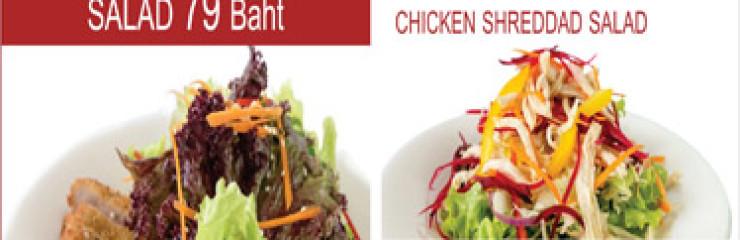 Promotion all Salad  79 Baht at Maria Restaurant @ True Arena Hua Hin