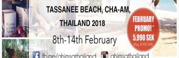 Yoga and Plant based Food Retreat Thailand 8th – 14th February 2018