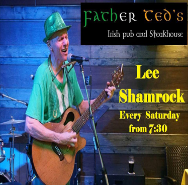 Lee Shamrock with Live sport on 8 screens at Father Teds – 25th August 2018