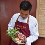 A Supersized 900 grams of USDA prime Rib Serving all October & November at McFarland House
