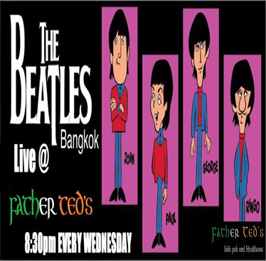 The Bangkok Beatles Live in Ted's at Father Teds – Wednesday 1st August 2018