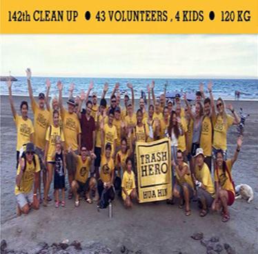 "Cleanup ""Monday 23rd"" July 2018 with Trash Hero Hua Hin"