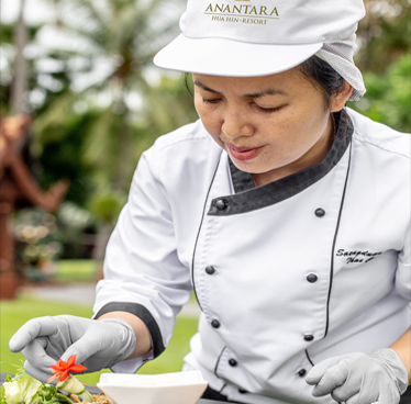 Chef's Table at Anantara Hua Hin Resort on 10 October 2018