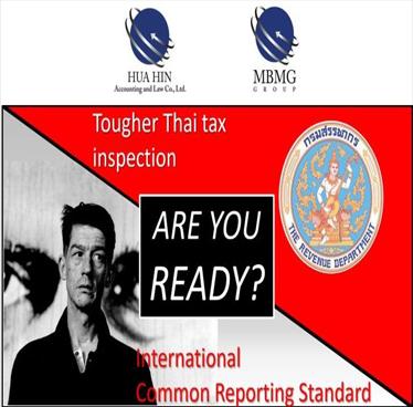 Seminar Tougher Thai Tax Inspection at G Hua Hin Resort – Wednesday 7th November 2018