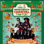 Chang - Major Movie on the Beach 6th : Carnival Fun Fest at Cha-Am on Saturday 31st March 2018
