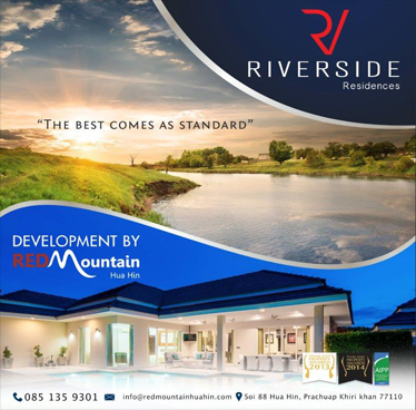The Promotion of Riverside Residences Two Popular Villas – Red Mountain Hua Hin