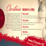 Christmas Brunch & BBQ at McFarland House @ Hyatt Regency – 25th December 2017