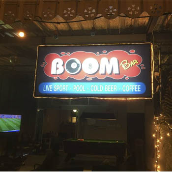 A Party to Celebrate Boom's Birthday & the Opening of Boom Bar – Friday 20th July 2018