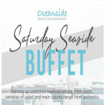 Saturday Seaside Buffet at Oceanside Beach Club & Restaurant