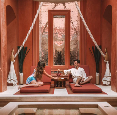 Spa treatment indulgent at The Barai Spa this month