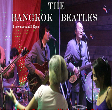 The Bangkok Beatles Live in Ted's every Wednesday of June 2018