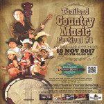 Thailand Country Music Festival 2017 at Cha- am ATV Park on 18th November 2017