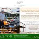 Every Sunday Mongolian Hot Pot & Barbecue @ Putahracsa Hua Hin