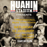 Hua Hin Stadium - Muay Thai Fights on Saturday 13th January 2018