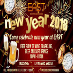 New Year's Celebration 2018 at EAST - Rooftop Bar & Lounge on 31st December 2017