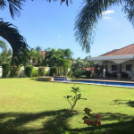 Spacious property for sale situated on a corner plot – private, relaxing and safe in Hua Hin