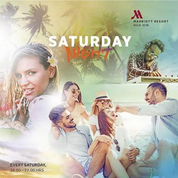 Saturday Night at Hua Hin Marriott Resort & Spa