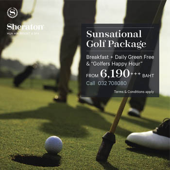 Golf Package at Sheraton Hua Hin Resort & Spa