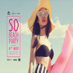 SO Beach Party - First Saturday at SO Sofitel Hua Hin on 4th November 2017
