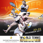Intercontinental World Tennis Thailand Championship 2017 at True Arena Hua Hin on 23rd - 24th December 2017