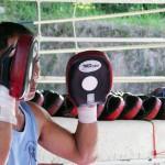 Thai Boxing in Hua Hin at WT Hua Hin, Thailand