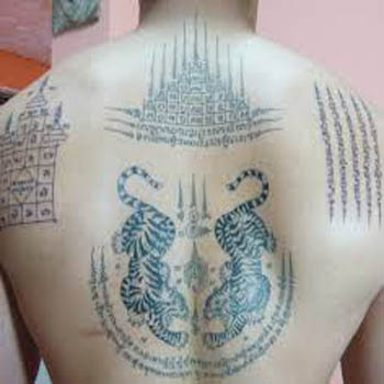The Traditional Art Of Thailand Tattoos Sak Yant Inspire